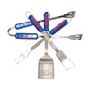 BSI Products 4-Piece Ole Miss Rebels BBQ Tool Set