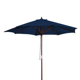 Jordan Manufacturing Navy Market Patio Umbrella