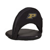 Picnic Time NCAA Purdue Boilermakers Steel Folding Chair