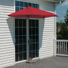 Blue Star Group Brella Red Patio Umbrella