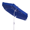 Fiberbuilt 7-ft 6-in Pacific Blue Market Umbrella