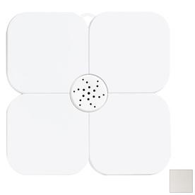 Nameeks Fiorilu 21.63-in x 21.63-in White Bath Mat