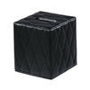 Nameeks Gedy Palace Tall Black Tissue Holder