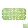 Nameeks 28-3/8-in x 17-7/8-in Margherita Green Vinyl Bath Mat