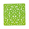 Nameeks 20-3/8-in x 20-3/8-in Margherita Green Vinyl Bath Mat