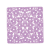 Nameeks 20-3/8-in x 20-3/8-in Margherita Lilac Vinyl Bath Mat