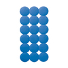 Nameeks 31-1/8-in x 15-5/8-in Giotto Blue Rubber Bath Mat