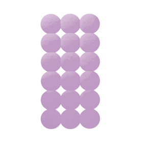 Nameeks Giotto 31.102-in x 15.551-in Lilac Rubber Bath Mat
