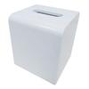Nameeks Gedy Kyoto White Plastic Tissue Holder