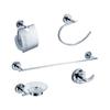 Fresca 5-Piece Alzato Chrome Decorative Bathroom Hardware Set