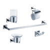 Fresca 5-Piece Glorioso Chrome Decorative Bathroom Hardware Set