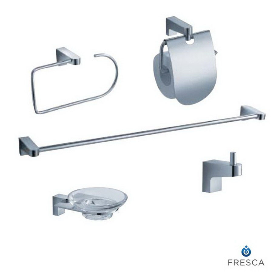 Fantastic Moda At Home CIRQUESET Bath Accessory Set  Lowe39s Canada