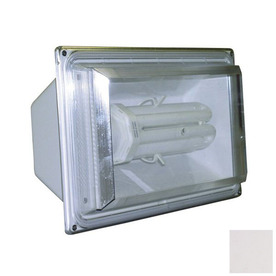Lights of America 8-in 1-Head CFL White Switch-Controlled Flood Light