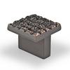 Topex Hardware Mosaic Venetian Bronze Square Cabinet Knob