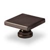 Topex Hardware Contemporary Oil-Rubbed Bronze Square Cabinet Knob