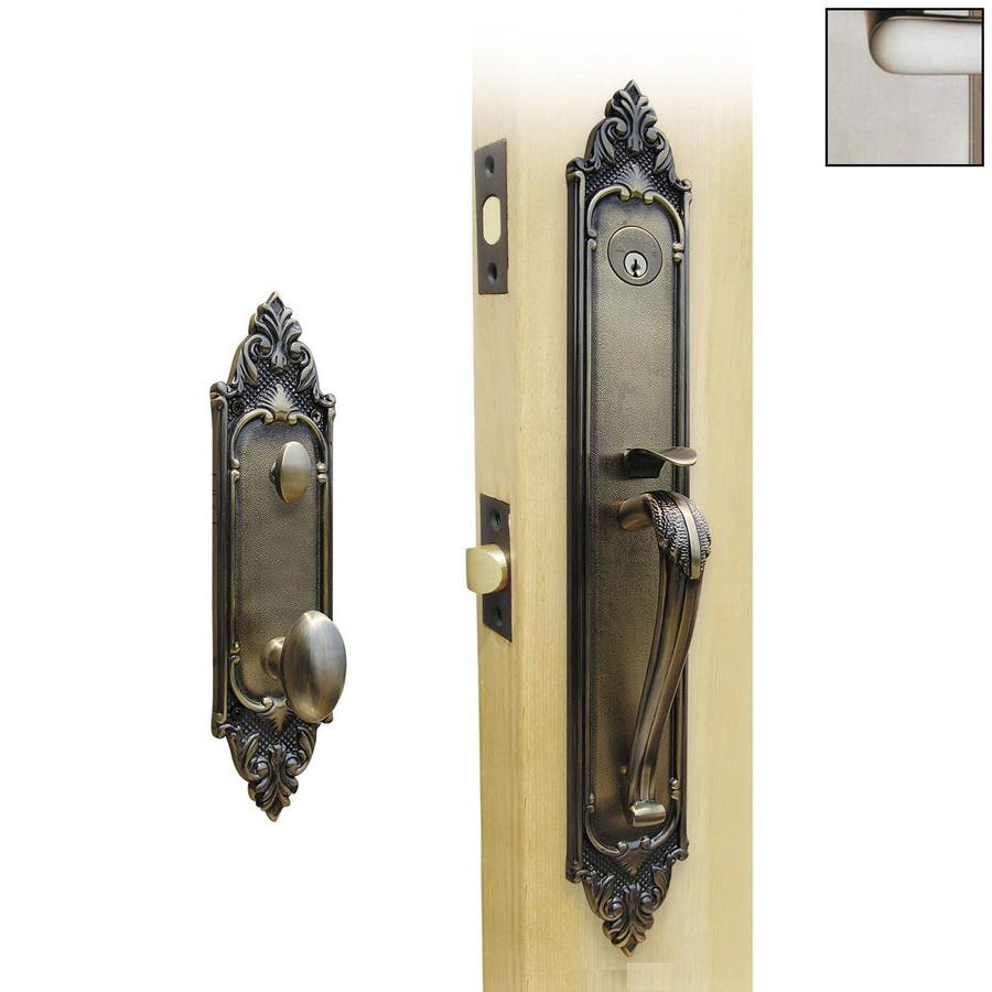 Gatehouse Classic Bronze Mortise Lock Keyed Entry Door