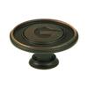Stone Mill Hardware Collegiate Hardware Oil-Rubbed Bronze Novelty Cabinet Knob