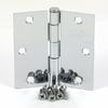 Stone Mill Hardware 3-1/2-in Polished Chrome Entry Door Hinge