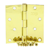 Stone Mill Hardware 4-in Polished Brass Entry Door Hinge