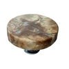 Vine Designs 1-5/8-in Polished Gold Tuscany Round Cabinet Knob