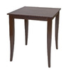 Office Star OSP Designs Espresso Square Dining Table
