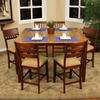 Greystone Metropolitan Natural/Suede Rectangular Dining Table