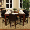 Greystone Banbury Suede Square Dining Table