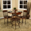 Greystone Corolla Chestnut/Ginger Spice Round Dining Table