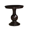 Powell Espresso Round End Table