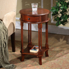 All Things Cedar Cherry Birch Round End Table