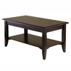Winsome Wood Nolan Cappuccino Rectangular Coffee Table