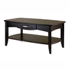 Winsome Wood Danica Dark Espresso Rectangular Coffee Table