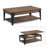 Magnussen Home Lakehurst Natural Oak Rectangular Coffee Table