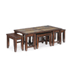 Magnussen Home Allister Cinnamon Cherry Rectangular Coffee Table