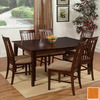 Atlantic Furniture Shaker Caramel Latte Rectangular Dining Table