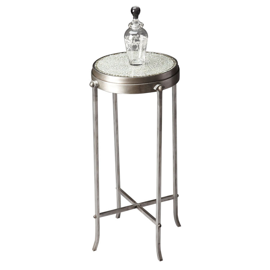 Shop Butler Specialty Metalworks Metal Round End Table At