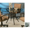 Pastel Furniture Ravenwood Autumn Rust Round Dining Table