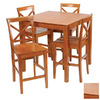 Stakmore Metro Harvest Square Dining Table