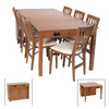 Stakmore Mission Fruit Wood Rectangular Dining Table