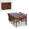Stakmore Mission Cherry Rectangular Dining Table