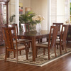 Somerton Home Furnishings Runway Medium/Dark Brown Rectangular Dining Table