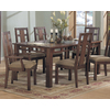 Somerton Home Furnishings Enchantment Natural Walnut Rectangular Dining Table
