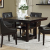 Monarch Specialties Dark Espresso Square Dining Table