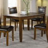 Monarch Specialties Dark Walnut Rectangular Dining Table