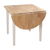 TMS Furniture Tiffany White Rectangular Dining Table