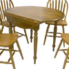 TMS Furniture Oak Round Dining Table