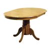 TMS Furniture Farmhouse Oak Oval Dining Table