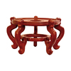 Oriental Furniture Honey Round End Table