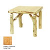 Fireside Lodge Furniture Cedar Liquid Glass Square Dining Table
