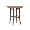 Fireside Lodge Furniture Traditional Hickory Octagonal Bistro Table